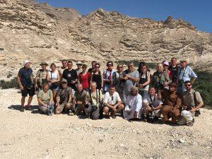 Účastníci exkurze ČSO do Ománu