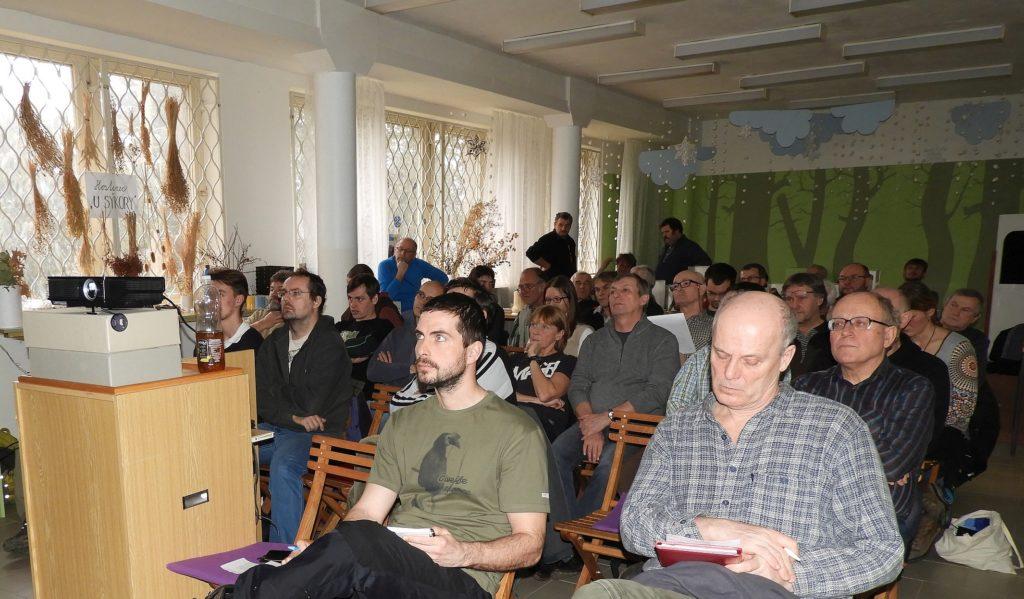posluchači na setkání SOVDS v Přerově 2018