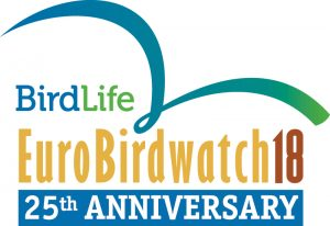 Logo EuroBirdwatch 2018
