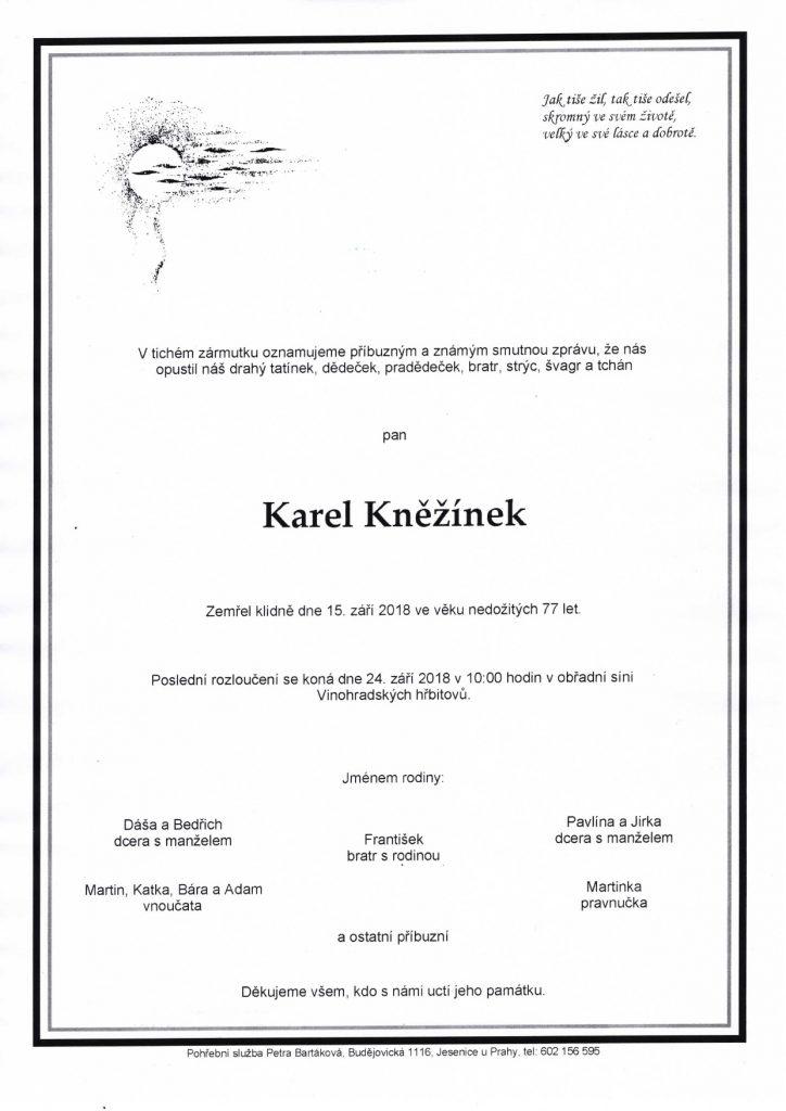 parte Karel Kněžínek