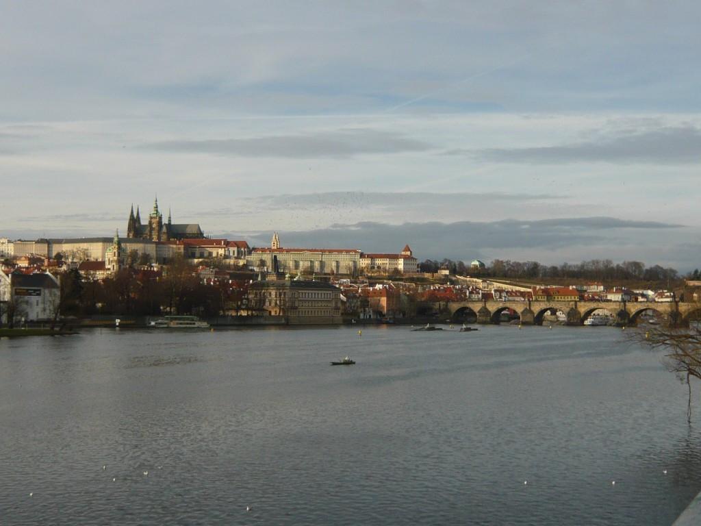 Vltava u Karlova mostu