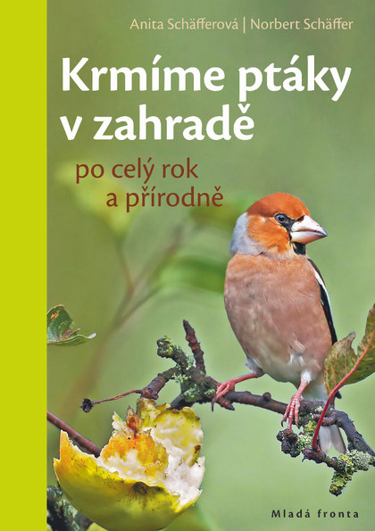 Obálka knihy Krmíme ptáky v zahradě