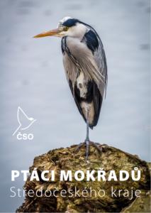 Titulka publikace Ptáci mokřadů Středočeského kraje