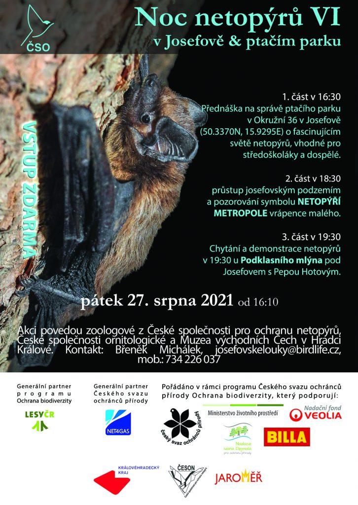 Pozvánka na Noc netopýrů 2021